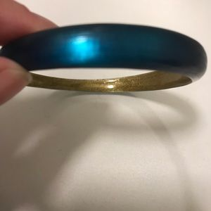 Alexis Bittar Dark Blue Bangle Bracelet